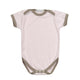 Organics For Kids Plain Body - 6-12 Months - Pink Taupe