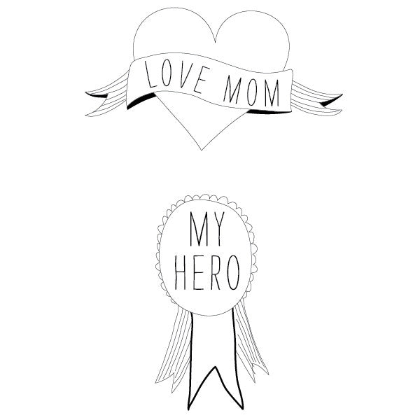 Tattyoo heroes mom tattoo by Sarah Livescault