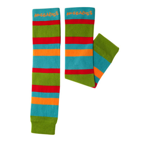 Huggalugs leg and arm huggers 0-6 years - blue-red-green - MAMAKA Shop