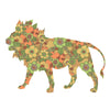 Inke handmade wallpaper Animals Safari - Lion 109 - Left - MAMAKA Shop