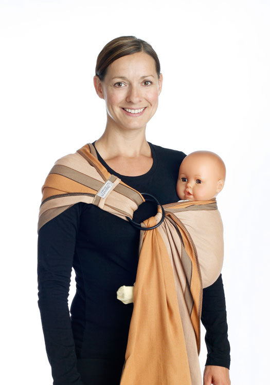 dolcino ring sling kreta 100% organic cotton