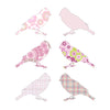 Inke handmade wallpaper Birds - Pink - MAMAKA Shop