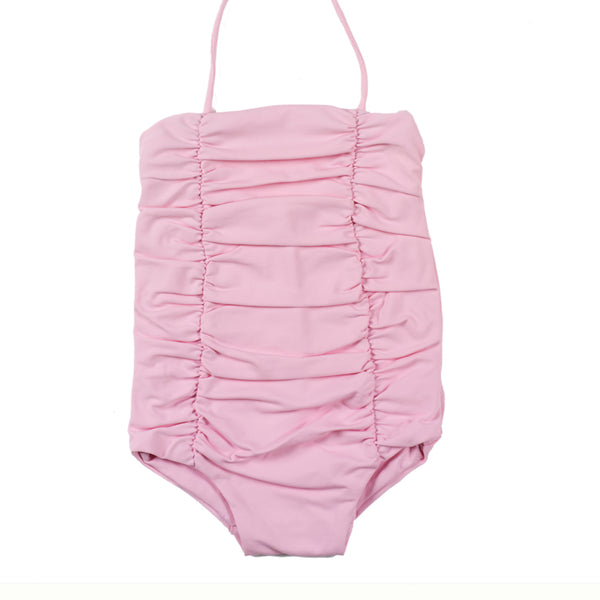 Little Creative Factory vintage bathing suit girl - Pink - MAMAKA Shop