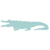 Inke handmade wallpaper Animals Safari - Crocodile 070 - Left - MAMAKA Shop