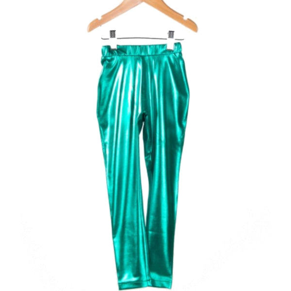 Bobo Choses shinny leggings - Green - MAMAKA Shop
