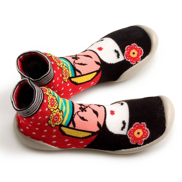Collegien slipper socks Japon Geisha