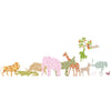 Inke handmade wallpaper animals safari - Monkey 030 - Left - MAMAKA Shop