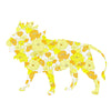 Inke handmade wallpaper Animals Safari - Lion 019 - Left - MAMAKA Shop