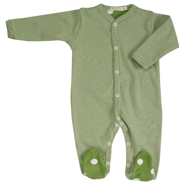 Pigeon Organics simple romper - all-in-one - Green
