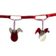 Esthex pramcord birds - Red