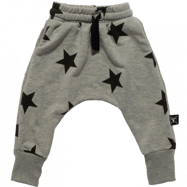 Nununu baggy pants star - Grey