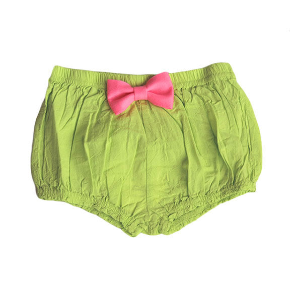 Franky Grow big ribbon bloomer - Green