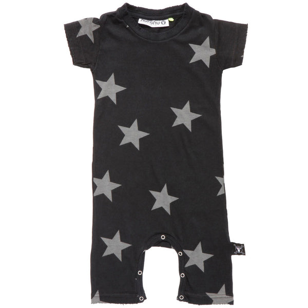 Nununu playsuit stars - Black