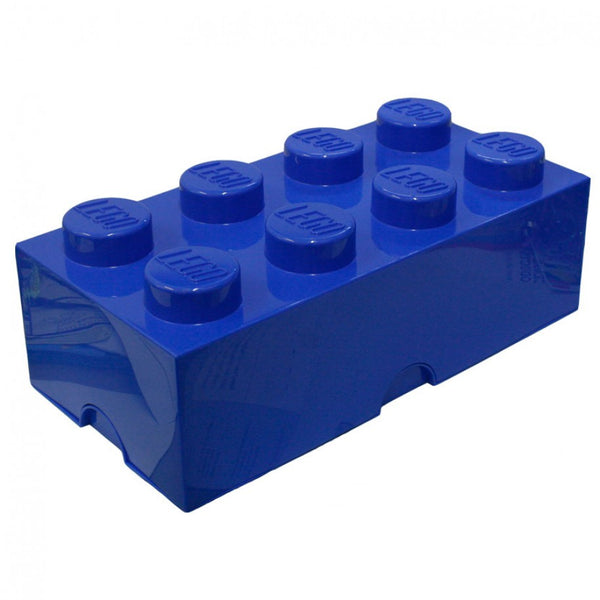 Lego Storage Brick 8 - Blue - MAMAKA Shop