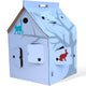 Kidsonroof Casa-Cabana cardboard playhouse - Deco