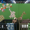 Inke handmade wallpaper Animals Safari - Monkey 102 - Left - MAMAKA Shop
