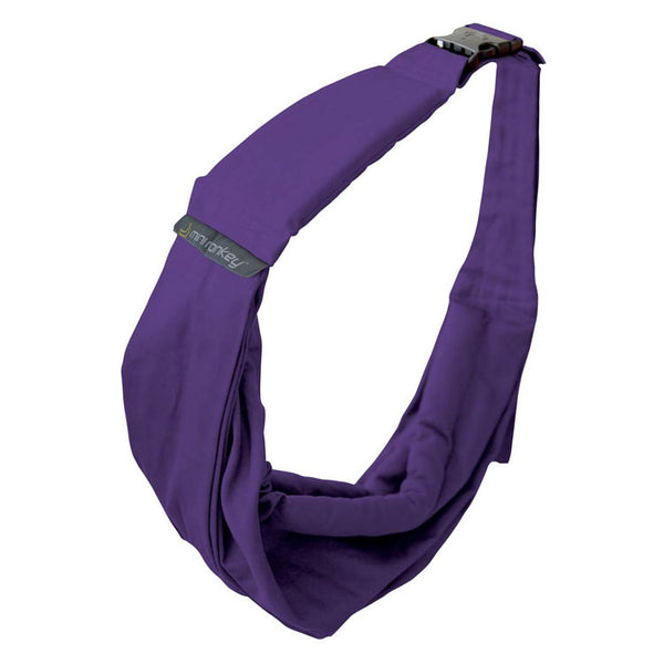 Minimonkey baby sling 4-in-1 - Deep Purple - MAMAKA Shop
