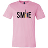 SMILE Lipsense - Bella & Canvas - O-neck Unisex Short Sleeve Jersey Tee - 12 Colors Available Plus Size XS-4XL - MADE IN THE USA