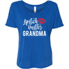 Lipstick Hustler Grandma - Bella Brand Ladies Slouchy Tee Feminine Women T-shirt - 6 colors available PLUS Size S-2XL MADE IN THE USA