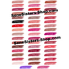 Lipsense Lip Color Chart Swatches Lipstick Lips Laptop Decal Stickers