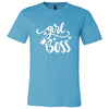 Girl Boss Crown Kisses - Bella & Canvas - O-neck Unisex Short Sleeve Jersey Tee - 12 Colors Available Plus Size XS-4XL - MADE IN THE USA