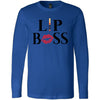 Lipsense Lip Boss Kiss Lips - Long Sleeve Tee Unisex Canvas Brand T-shirt - 4 colors available PLUS Size XS-2XL MADE IN THE USA