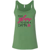 Too Glam to give a Damn - Ladies Relaxed Jersey Tank Top Women - Bella & Canvas - 6 colors available - PLUS Size S-2XL MADE IN THE USA
