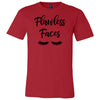 Flawless Faces - Bella & Canvas - O-neck Unisex Short Sleeve Jersey Tee - 12 Colors Available Plus Size XS-4XL - MADE IN THE USA