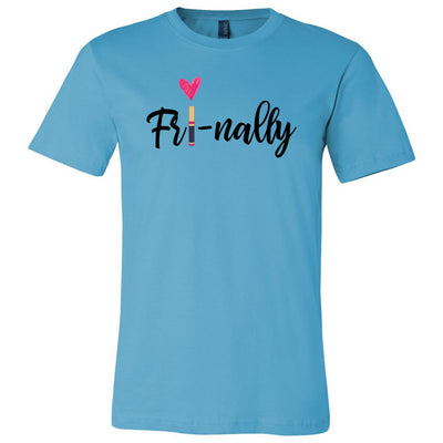 Fri-nally Lipsense Bella & Canvas O-neck Unisex Short Sleeve Jersey Tee - 12 Colors Available Plus Size XS-4XL - MADE IN THE USA