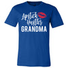 Lipstick Hustler Grandma - Bella & Canvas - O-neck Unisex Short Sleeve Jersey Tee - 12 Colors Available Plus Size XS-4XL - MADE IN THE USA