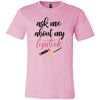 ask me about my lipstick Lipsense 50 Lip Color Swatches - (FRONT & BACK) - Bella & Canvas Unisex O-neck Jersey T-Shirt - 12 Colors Available Plus Size XS-4XL - MADE IN THE USA