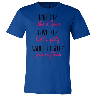 Like it? Love it? Want it All? - Bella & Canvas - O-neck Unisex Short Sleeve Jersey Tee - 12 Colors Available Plus Size XS-4XL - MADE IN THE USA