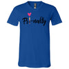 Fri-nally Lipsense - Bella & Canvas Unisex V-neck Jersey T-Shirt - 7 Colors Available Plus Size XS-3XL - MADE IN THE USA