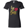 Lipboss GOLD Bella + Canvas - Women's Short Sleeve Feminine T-shirt Lip Boss - 13 Colors Available Plus Size S-2XL - MADE IN THE USA