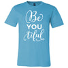BeYOUtiful - Bella & Canvas - O-neck Unisex Short Sleeve Jersey Tee - 12 Colors Available Plus Size XS-4XL - MADE IN THE USA