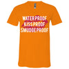Waterproof-Kissproof-Smudgeproof - Bella & Canvas Unisex V-neck Jersey T-Shirt - 11 Colors Available Plus Size XS-3XL - MADE IN THE USA