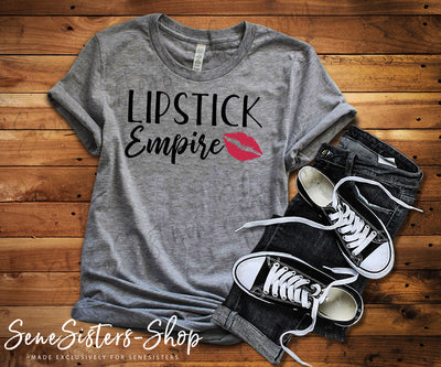 Lipstick Empire - Bella & Canvas - O-neck Unisex Short Sleeve Jersey Tee - 11 Colors Available Plus Size XS-4XL - MADE IN THE USA