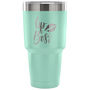 LipBoss 30 oz Engraved / Etched Stainless Steel Tumbler Travel Mug | Hot or Cold | 7 Colors Available