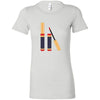 Lipsense Lipstick Tube - slanted - Bella + Canvas - Women's Short Sleeve Feminine T-shirt - 16 Colors Available Plus Size S-2XL - MADE IN THE USA
