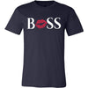BOSS Lips - Bella & Canvas - O-neck Unisex Short Sleeve Jersey Tee - 12 Colors Available Plus Size XS-4XL - MADE IN THE USA