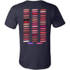 Waterproof-Kissproof-Smudgeproof - Lipsense 50 Lip Color Swatches - (FRONT & BACK) - Bella & Canvas Unisex O-neck Jersey T-Shirt - 12 Colors Available Plus Size XS-4XL - MADE IN THE USA