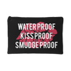Waterproof-Kissproof-Smudgeproof Lipstick Kiss Lips - Travel Makeup Accessory Cosmetic Tote or Money Bag Size: Small or Large