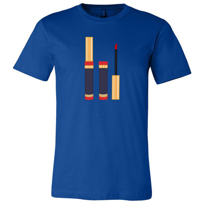 Lipsense Lip Color Tube Bella & Canvas - O-neck Unisex Short Sleeve Jersey Tee - 12 Colors Available Plus Size XS-4XL - MADE IN THE USA