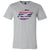 Patriotic Stripes Lips - Lipstick Kiss Print - Bella & Canvas - O-neck Unisex Short Sleeve Jersey Tee - 12 Colors Available Plus Size XS-4XL - MADE IN THE USA