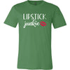 Lipstick Junkie - Bella & Canvas - O-neck Unisex Short Sleeve Jersey Tee - 12 Colors Available Plus Size XS-4XL - MADE IN THE USA