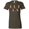 Lipsense Lineup - Bella + Canvas - Women's Short Sleeve Feminine T-shirt - 16 Colors Available Plus Size S-2XL - MADE IN THE USA