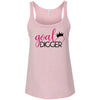 Goal Digger Crown - Ladies Relaxed Jersey Tank Top Women - Bella & Canvas - 6 colors available - PLUS Size S-2XL MADE IN THE USA