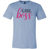 girl boss - Bella & Canvas - O-neck Unisex Short Sleeve Jersey Tee -12 Colors Available Plus Size XS-4XL - MADE IN THE USA