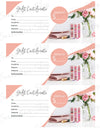 Lipsense Gift Certificate Lipstick Color Swatches Printable Instant Digital Download