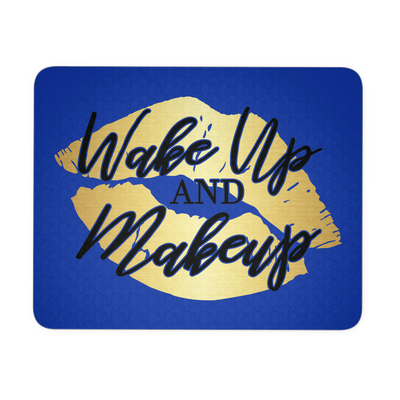 Wakeup & Makeup Lipstick Lips Kiss - COMPUTER OFFICE MOUSEPAD